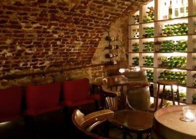 Eclairage au sein d'une brasserie à Verviers
