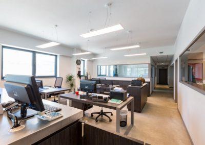 Installation domotique et alarme dans les bureaux