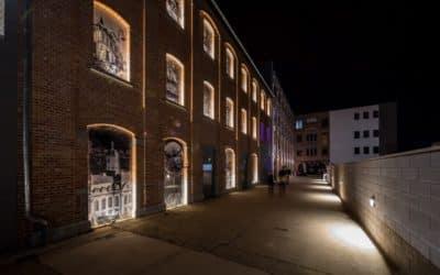 Installation d'éclairage, domotique et alarme à l'Espace 58 à Verviers