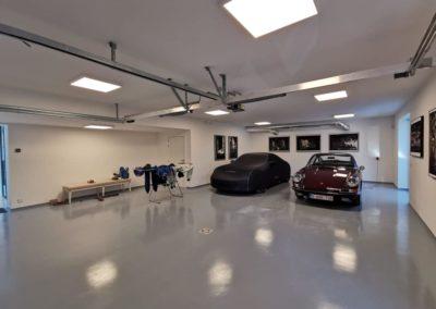 Eclairage dans le garage