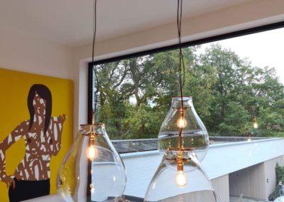 Installation de luminaires