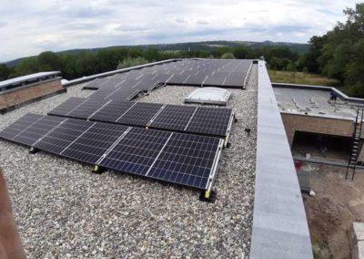 Panneaux photovoltaiques à Trooz
