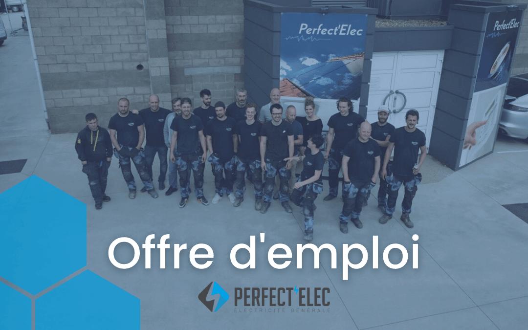 Offre d'emploi : Chef d'équipe électricien (Verviers)