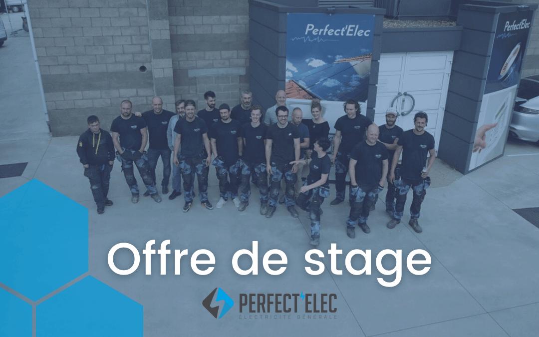 Offre de stage – Stagiaire/apprenti électricien (Verviers)